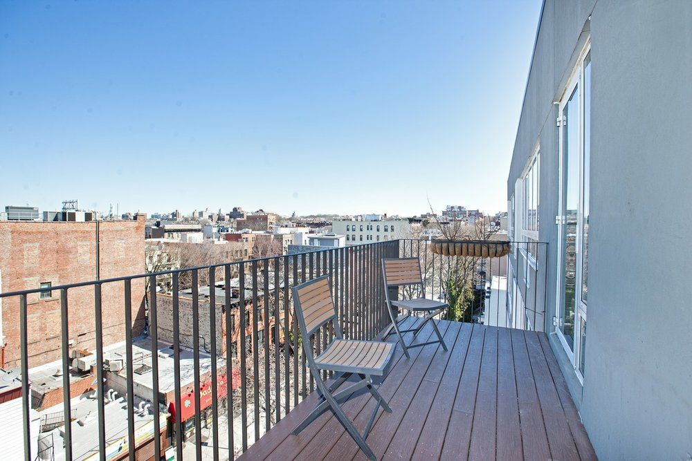 Penthouse Private Outdoor And Storage Space Park Slope